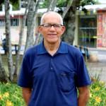 Antônio é técnico de Enfermagem, aposentado do Hospital Universitário da UFSC. (Foto: Mayra Cajueiro Warren / AI / GR)