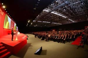 Plenária do III Encontro Internacional de Reitores Universia. (Foto: Divulgação)