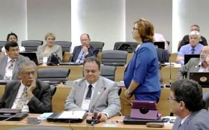 Reitora Roselane Neckel participa da reunião da UDUAL. (Foto: Divulgação)