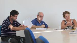 Membros da Comissão da Memória e Verdade da UFSC reuniram-se pela primeira vez nesta segunda-feira, dia 23. (Foto: Caetano Machado / Agecom / UFSC)