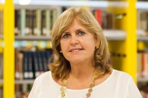 Sigrid Dutra já foi diretora da BU por 12 anos (Foto: Henrique Almeida/ Agecom/ UFSC)